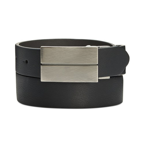 Alfani Men's Reversible Belt  Charcoal Size 40 Regular