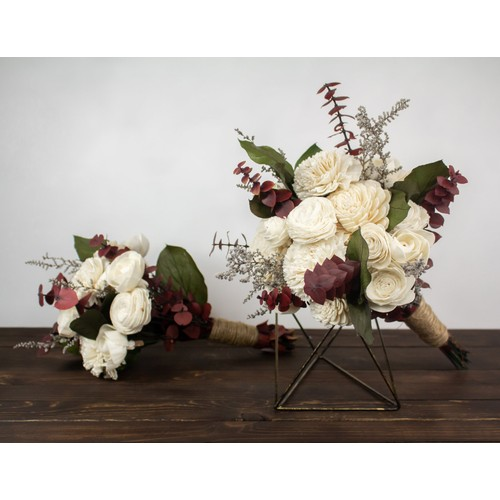 Sola Wood Flower Bouquet - Garden Party