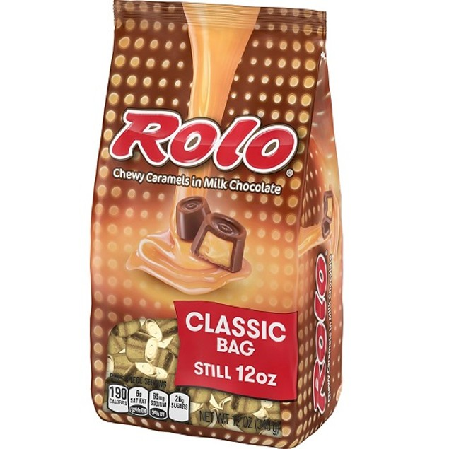 Rolo Chewy Chewy Caramels Classic Bag Chocolate Candy
