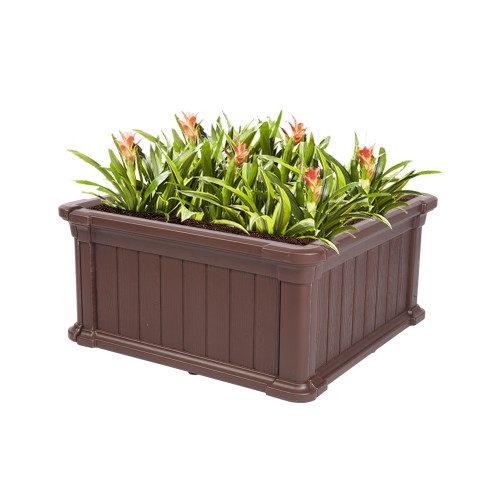 "23.8*23.8*11.8"" Blow Molded Planting Frame"