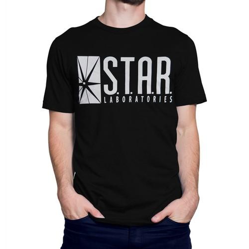 Flash Star Labs Black T-Shirt