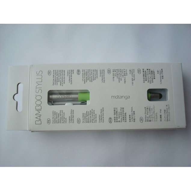 Green Wacom Bamboo CS100E CS100K Stylus For Touchscreen Devices Tablets