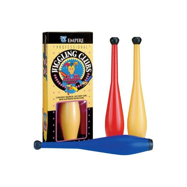Juggling Clubs Set (Includes 3 Clubs)