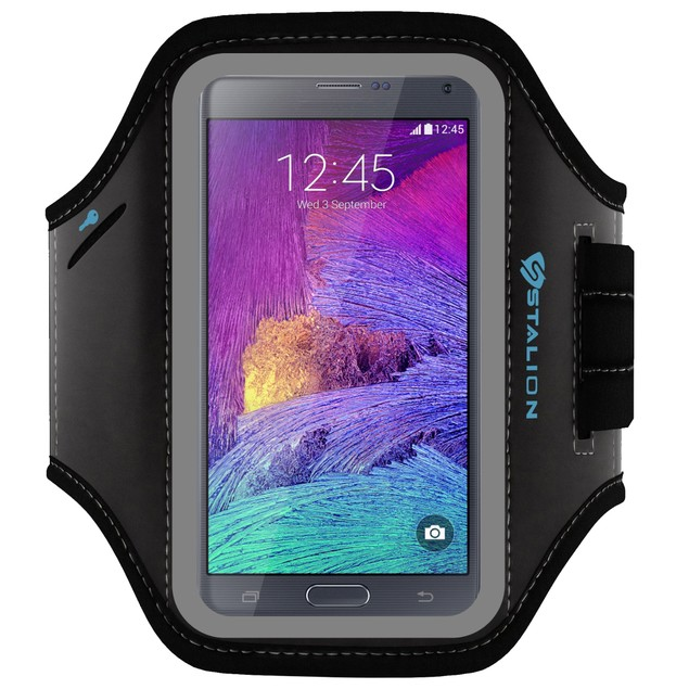Stalion Sports Running Exercise Gym Armband Case for Samsung Galaxy Note 4