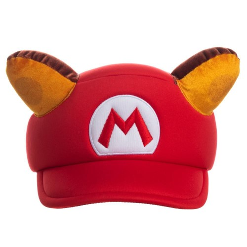 Super Mario Raccoon Cosplay Hat