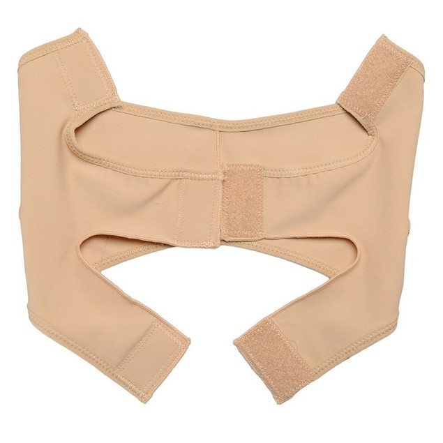 Face V-Line Strap Band Cheek Lift Up Chin Neck Slimming Thin Belt Nude