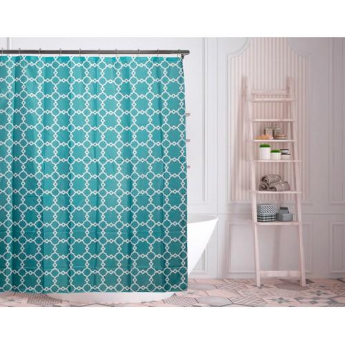 "Alyssa 72"" Geometric Shower Curtains"
