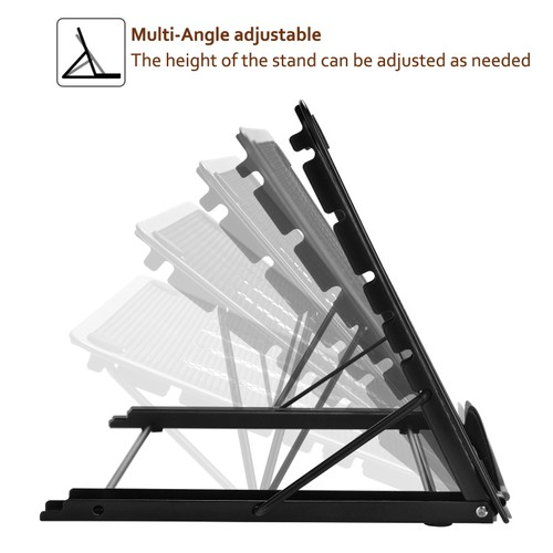 Ventilated Metal-mesh Adjustable Stand,for Laptop /tracing /pad/ Tablet
