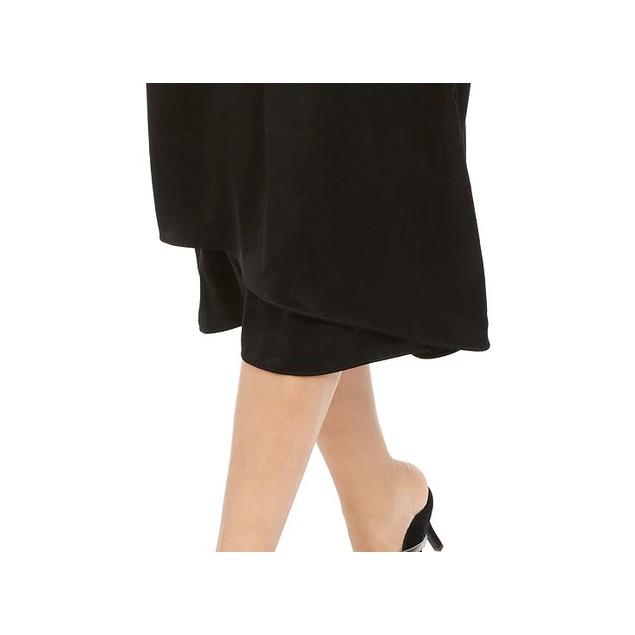 Alfani Women's Faux-Wrap Skirt Black Size 14