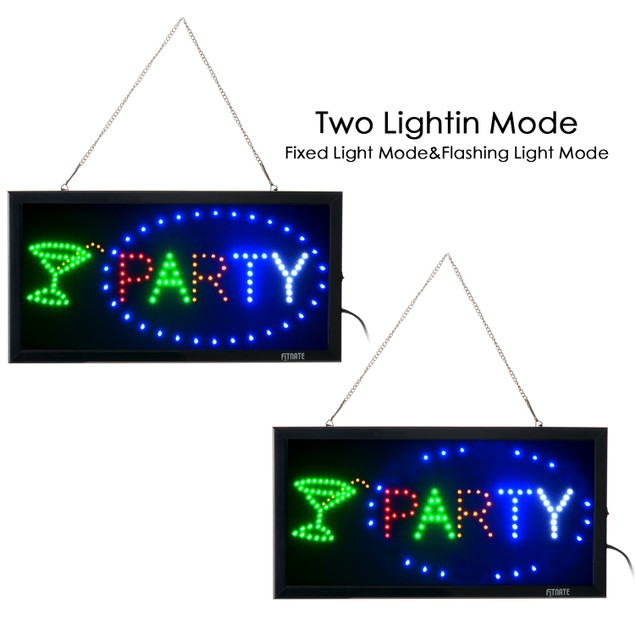LED Party Electric Billboard Bright Advertising Board Flashing Light