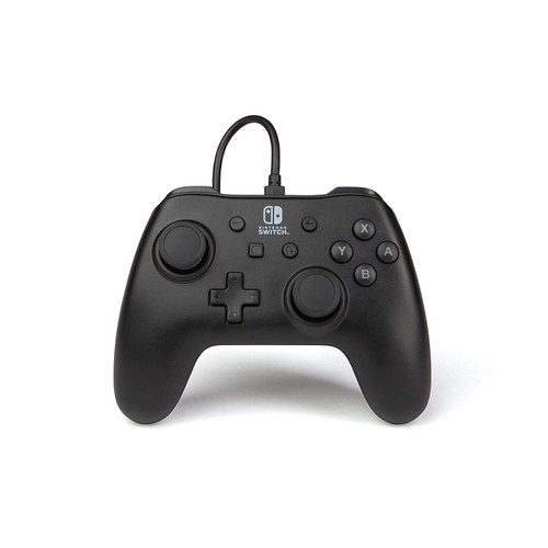PowerA Wired Ergonomic Controller for Nintendo Switch w/ Hook and Loop,