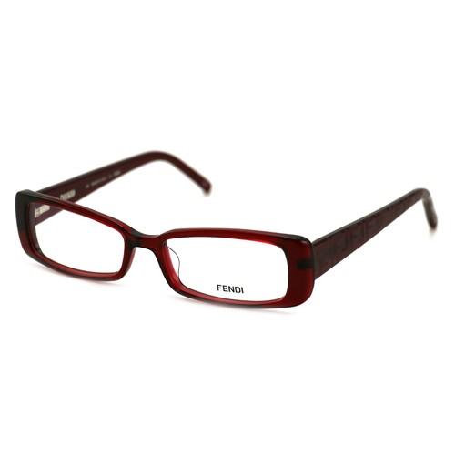 Fendi Women's Eyeglasses F906 509 Red 51 16 135 Full Rim Rectangular