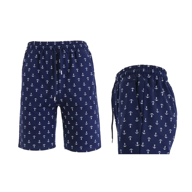 Men's Slim Fit French Terry Printed Shorts (Multiple Designs)