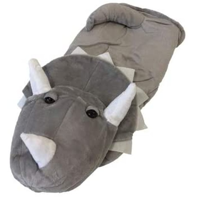 Midlee Gray Triceratops Dog Costume, Size 20