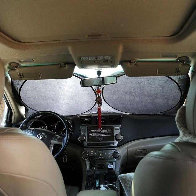Foldable Car Windshield Visor Sunshade