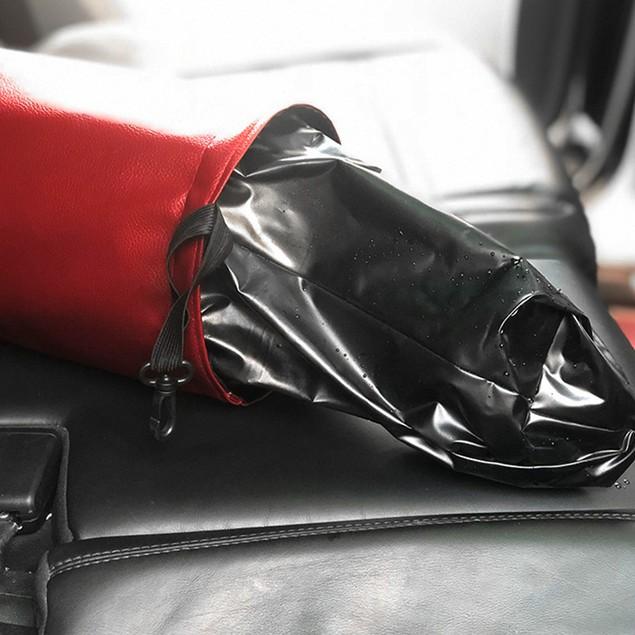 Leather Waterproof Car Trash Bin | 3 Colors