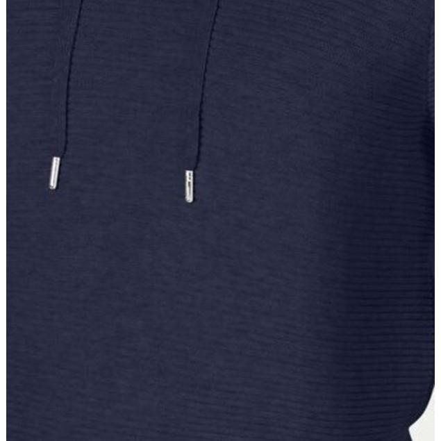INC International Concepts Men's Hooded Sweater Dark Blue Size X-Large