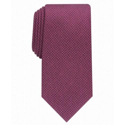 Perry Ellis Men's  Ruthven Micro-Dot Tie Wine One Size