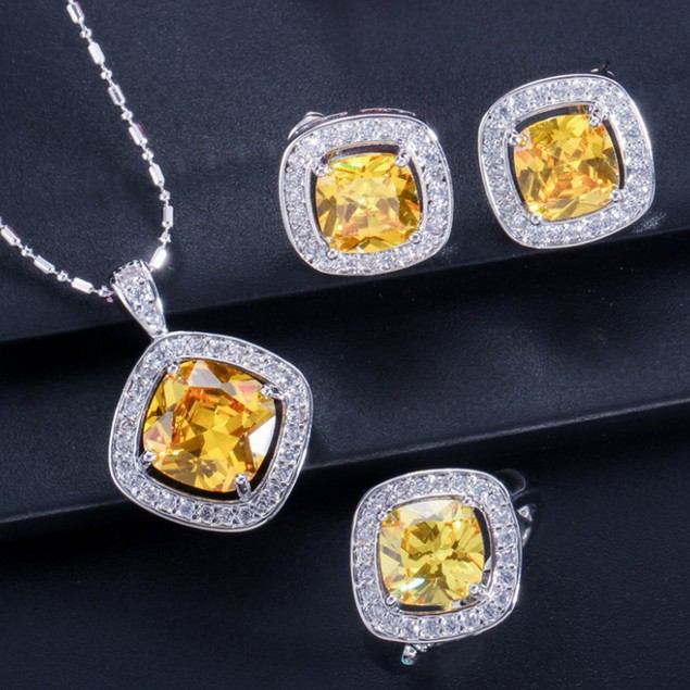 Festive Fashion 4pc Princess Signature Jewelry Set
