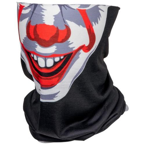 IT Pennywise Character Costume Full Face Tubular Bandana Gaiter