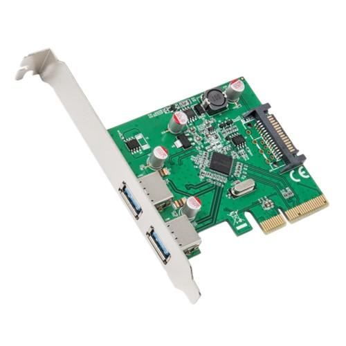 2 Port USB3.1Type-A PCI-E 3.0 x4