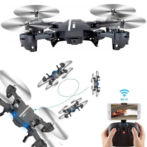Mini 8807W Foldable With Wifi FPV HD Camera 2.4G 6-Axis RC Quadcopter Drone