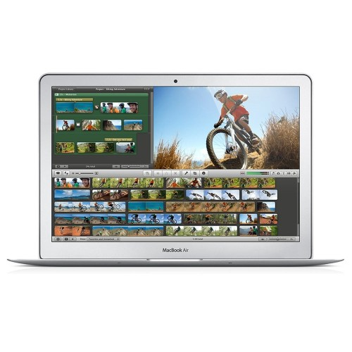 "Apple MacBook Air MD760LL/A 13.3"" 256GB, Silver (Scratch and Dent)"