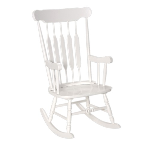 Gift Mark Adult Rocking Chair -White Finish