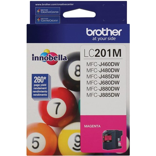 Brothers Brother LC201M Standard Yield Magenta Ink Cartridge