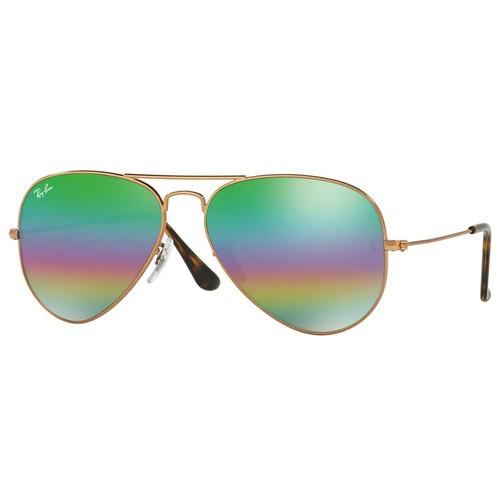 Ray-Ban Aviator Sunglasses RB3025-9018C3-62