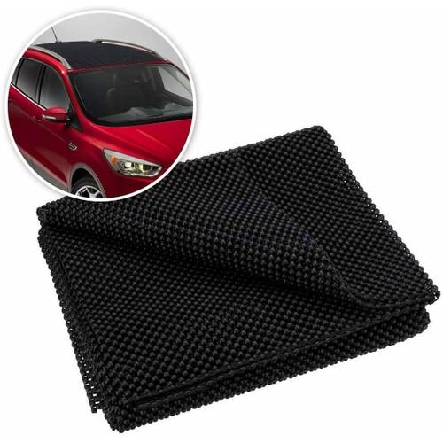 Zone Tech Black Protective Car Roof Cargo Carrier Bags Mat Grip Non Slip