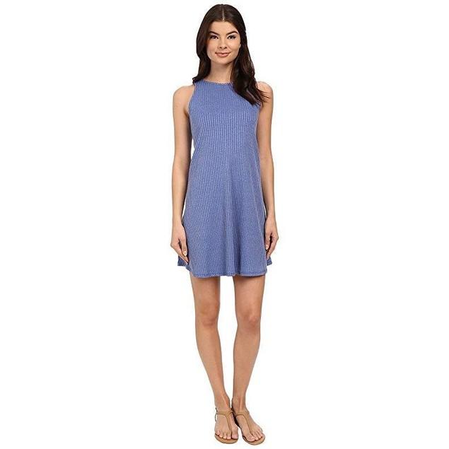 Brigitte Bailey Women's Mccarthy Swing Dress Blue Bonnet Dress MD