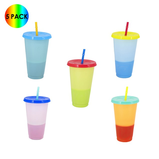 Color-Changing Cold Cups - 5 Pack