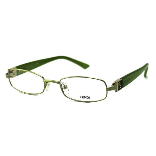 Fendi Women's Eyeglasses F905 317 Green 52 19 130 Full Rim Oval