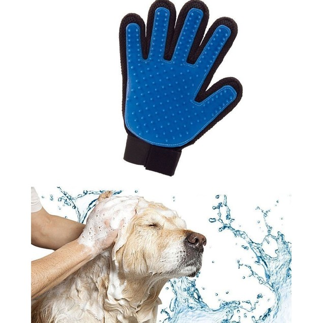 iPets Magic Touch Five Finger Deshedding Glove