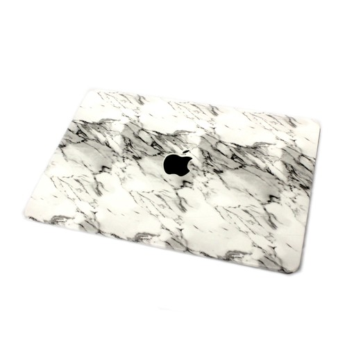 """EmbraceCase 11"""" MacBook Air Hard Shell Cover for A1370/A1465 - Light Marble"""