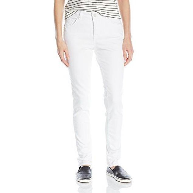 Jag Jeans Women's Westlake Skinny, White, SZ: 12