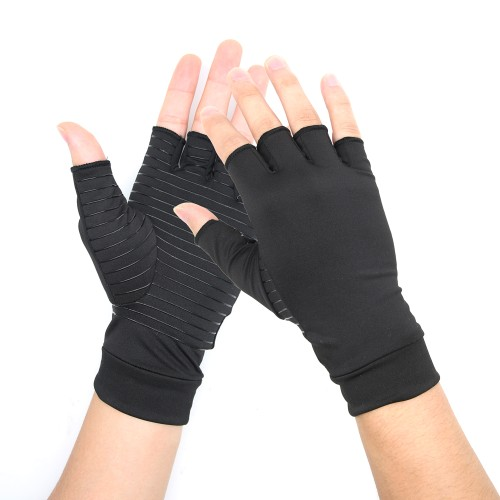 Arthritis Compression Gloves Copper Heal Rheumatoid Carpal Tunnel(Small)
