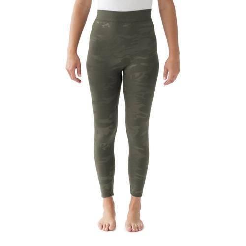 MUK LUKS® Women's Fleece Lined Embossed Leggings