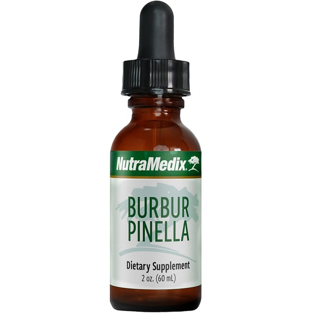 NutraMedix Burbur-Pinella Detox Drops - Peruvian Herbal Liquid, 2 Oz / 60ml