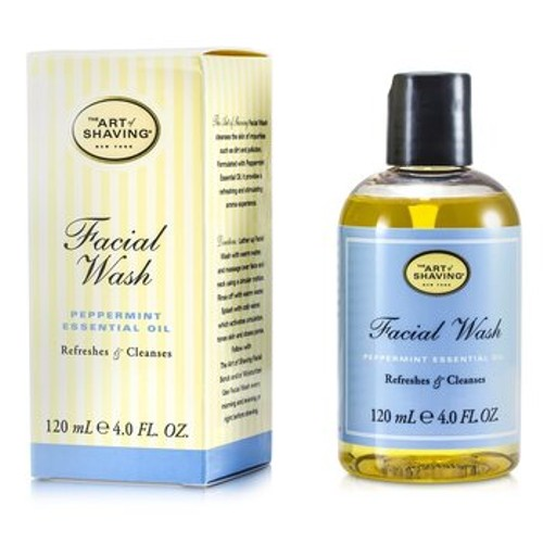 The Art Of Shaving Facial Wash - Peppermint Essential Oil (For Sensitive Skin)