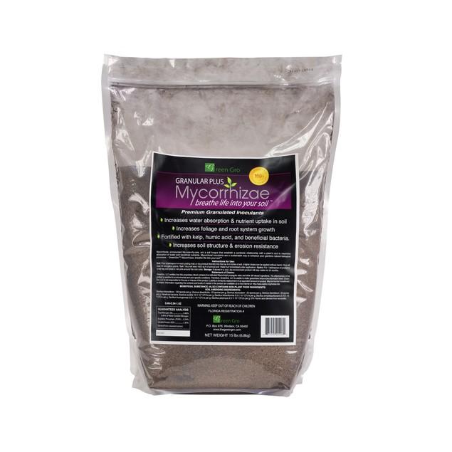 Green Gro Granular Plus Mycorrhizae All-in-One, 15 lbs