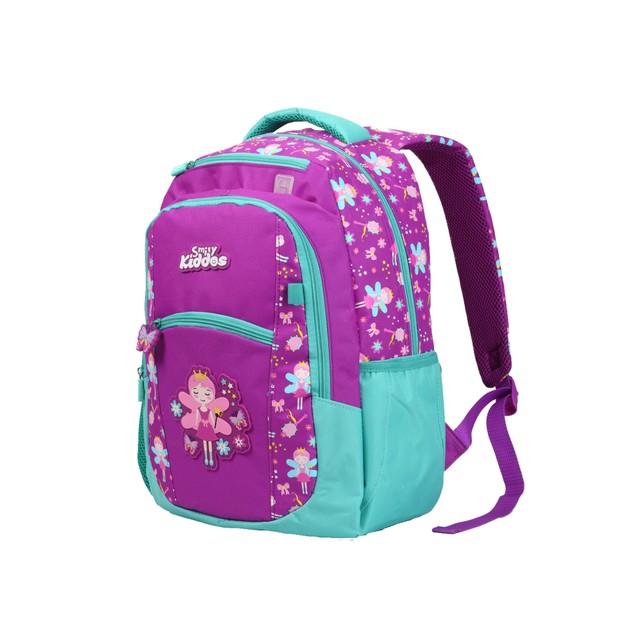 Smilykiddos Dual Color Backpack purple
