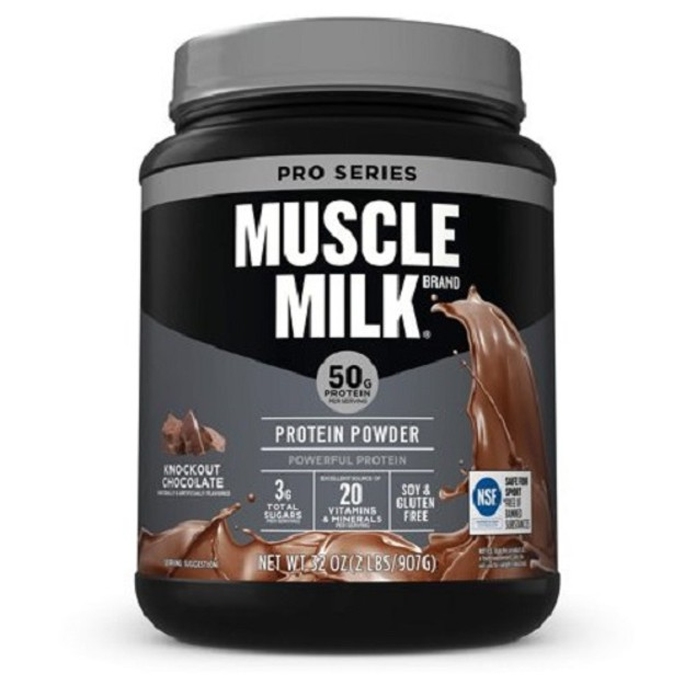 Muscle Milk Knockout Chocolate Protein Powder