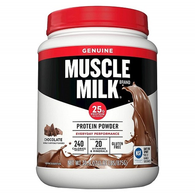 Muscle Milk Chocolate Protein Powder