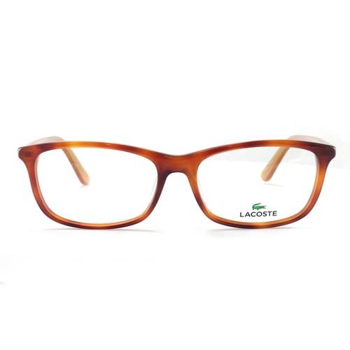 Lacoste L2711 Unisex Eyeglasses 218 Light Havana Plastic 53 16 140