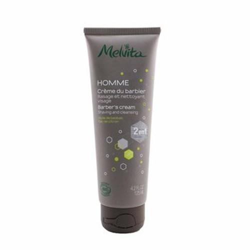 Melvita Homme Barber's Cream Shaving & Cleansing - 2 In 1