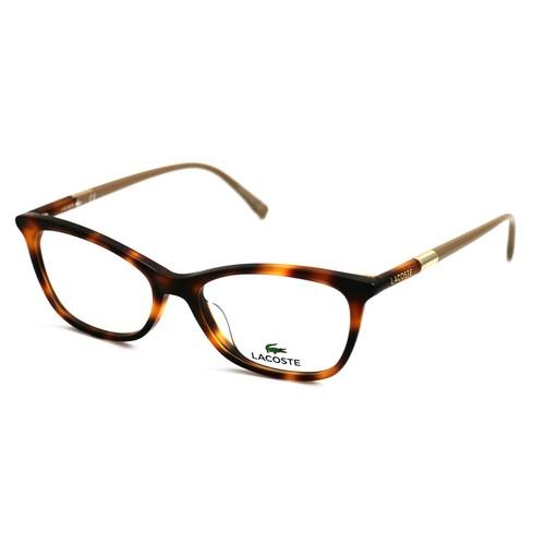 Lacoste Women Eyeglasses L2791 214 Havana Frames 52 16 140 Cat Eye