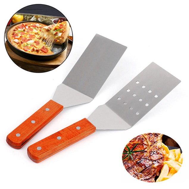 Wooden Handle Cheese Shovel Pizza Pancake Spatula Baking Tool