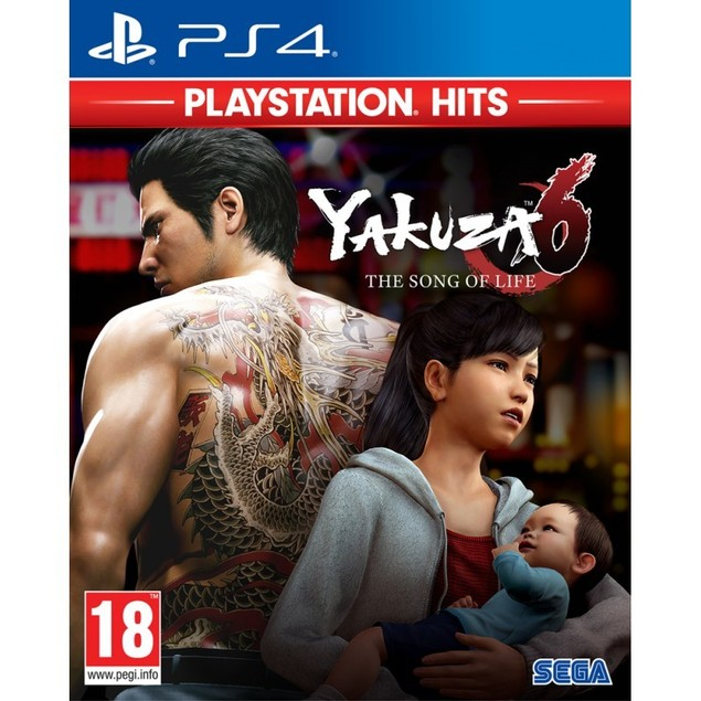 Yakuza 6 The Song of Life PS4 Game (PlayStation Hits)